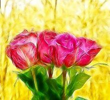A bunch of Roses by ikshvaku