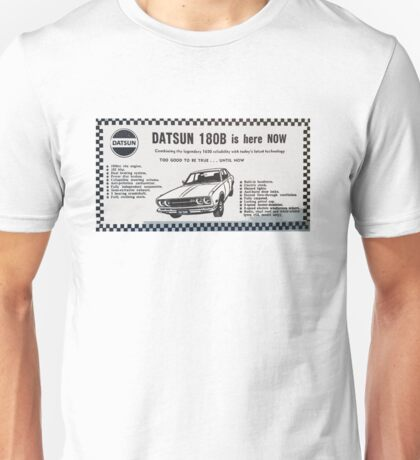 Datsun 180B is here NOW! Unisex T-Shirt
