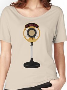 Microphone Women's Relaxed Fit T-Shirt
