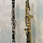 The Two Sopranos - Clarinet and Saxophone by BlueMidnight