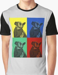 Cat Squares Graphic T-Shirt