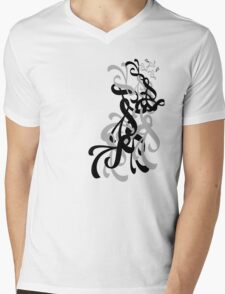 Twirl Mens V-Neck T-Shirt