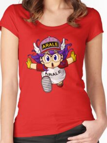 Arale  Women's Fitted Scoop T-Shirt