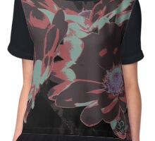 Floraleye; the lure of nature Women's Chiffon Top
