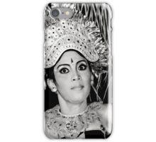 Balinese Dancer (bw) iPhone Case/Skin