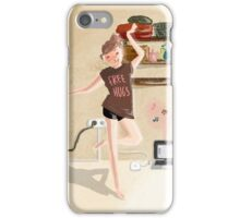Laundry Dancing Time iPhone Case/Skin