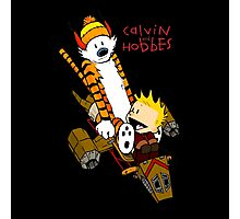 Calvin & Hobbes : Forever Young Photographic Print