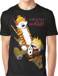 Calvin & Hobbes : Forever Young Graphic T-Shirt