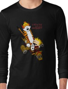 Calvin & Hobbes : Forever Young Long Sleeve T-Shirt