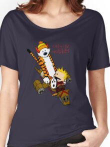 Calvin & Hobbes : Forever Young Women's Relaxed Fit T-Shirt