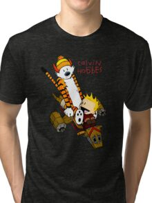 Calvin & Hobbes : Forever Young Tri-blend T-Shirt