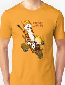 Calvin & Hobbes : Forever Young Unisex T-Shirt