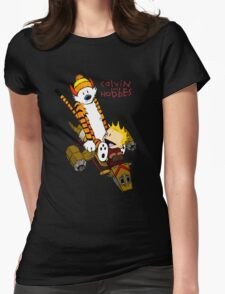 Calvin & Hobbes : Forever Young Womens Fitted T-Shirt