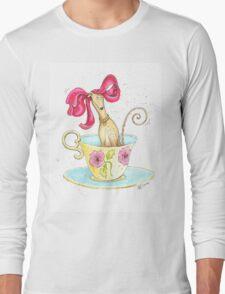 A Greyt Cuppa Long Sleeve T-Shirt