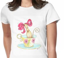 A Greyt Cuppa Womens Fitted T-Shirt
