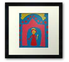 Your Majesty Framed Print