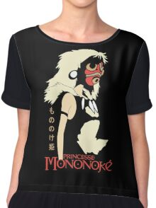 Princess Mononoke Hime, Anime Chiffon Top