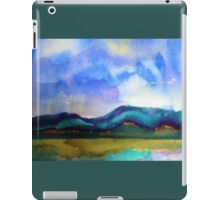 Abstract Landscape, cool I iPad Case/Skin