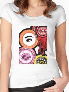 Face Women's Fitted Scoop T-Shirt