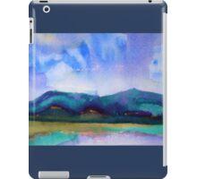 Abstract Landscape, cool III iPad Case/Skin