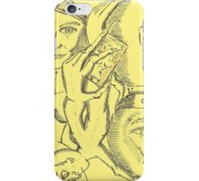crystal ball hour glass iPhone Case/Skin