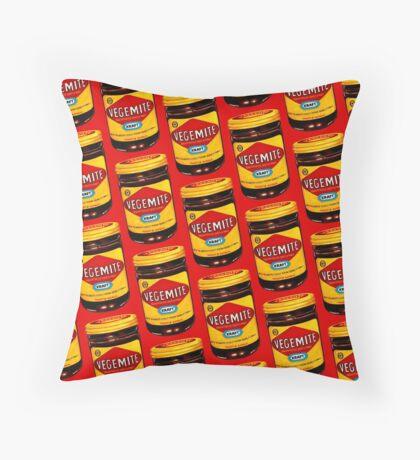 Vegemite Pattern Throw Pillow