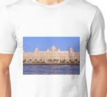 Photography of hotel by the sea from Dubai. United Arab Emirates. Unisex T-Shirt