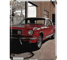 ford mustang cabriolet classic car iPad Case/Skin