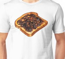 Vegemite Toast Pattern Unisex T-Shirt