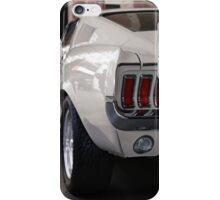 Ford Mustang Fastback V8 iPhone Case/Skin