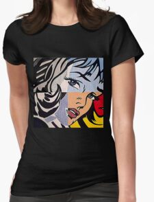 Lichtenstein's Girl Womens Fitted T-Shirt