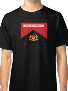 Smoke addict Classic T-Shirt