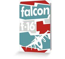 Go Falcon Greeting Card