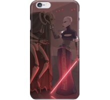 Asajj Ventress General Grievous iPhone Case/Skin