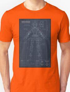 Orianna Robotic Blueprint Unisex T-Shirt