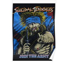 Suicidal Tendencies Join the Army Poster