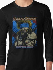 Suicidal Tendencies Join the Army Long Sleeve T-Shirt