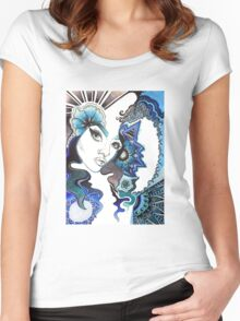Blue Girl Women's Fitted Scoop T-Shirt