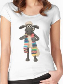 Shaun Color Women's Fitted Scoop T-Shirt