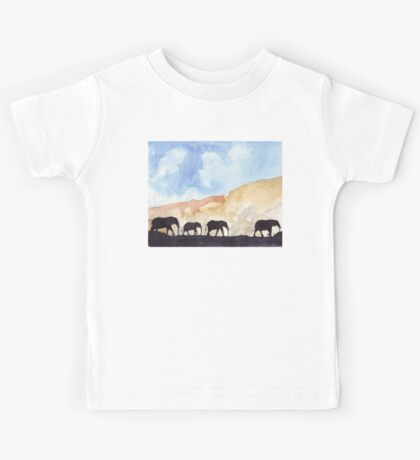 Silhouettes of Africa Kids Tee