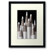 We don't see color.  Framed Print