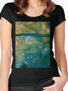 2016_GITCHADK_MALERI_PRINT_1_22 Women's Fitted Scoop T-Shirt