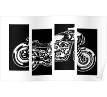 Black Racer flag  Poster