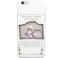 Olde Original Bakewell pudding recipe, tony fernandes iPhone Case/Skin
