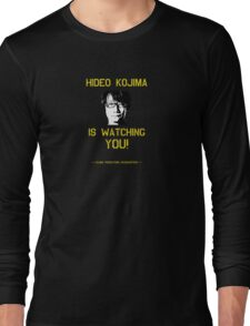Kojima is Watching Long Sleeve T-Shirt