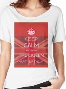 Happy Birthday To The Queen Women's Relaxed Fit T-Shirt