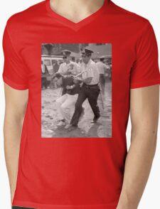 Bernie Arrest Mens V-Neck T-Shirt