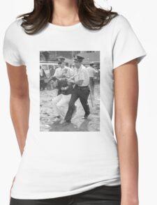 Bernie Arrest Womens Fitted T-Shirt