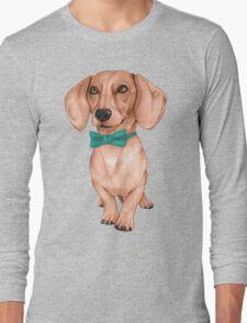 Dachshund, The Wiener Dog Long Sleeve T-Shirt