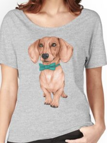 Dachshund, The Wiener Dog Women's Relaxed Fit T-Shirt